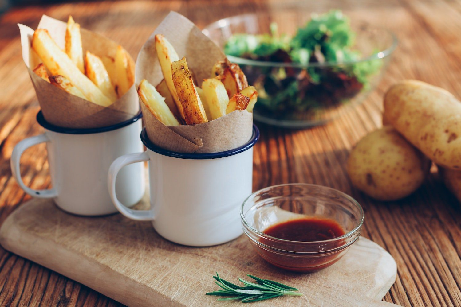 chips are a popular dish for backpackers to try when in edinburgh
