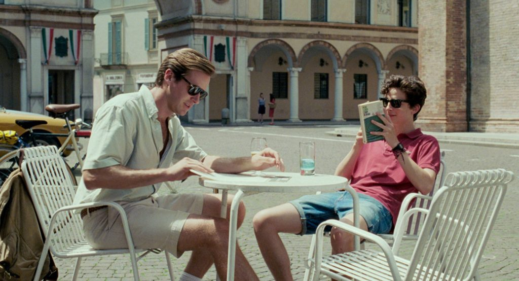 Call Me By Your Name is a popular travel movie