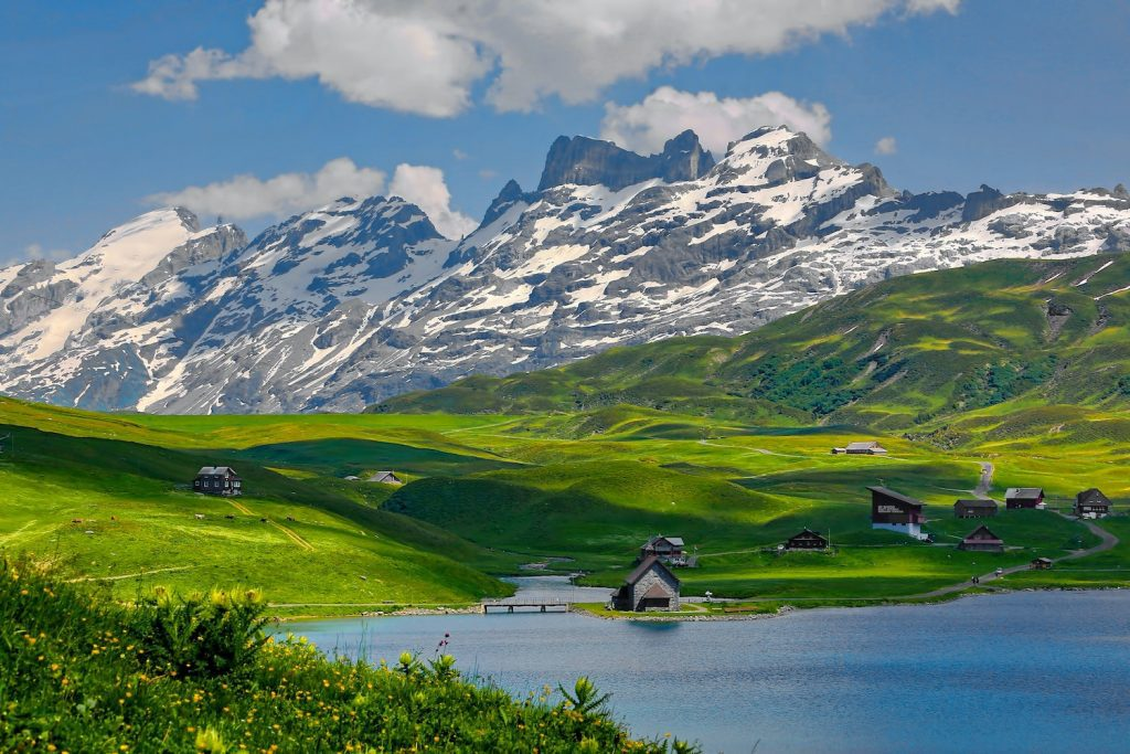 The Swiss Alps are a popular destination for backpackers