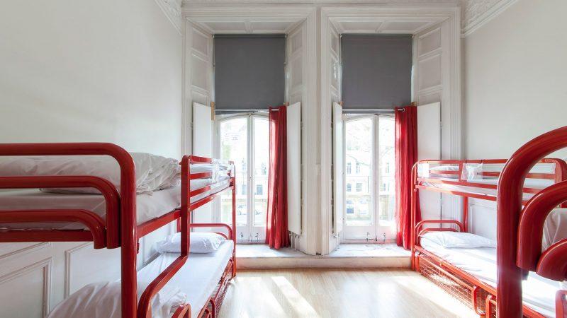 A dorm room at Astor Hostel Hyde Park, United Kingdom