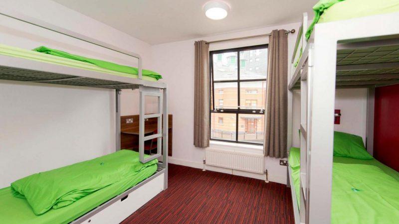 YHA_Manchester_Bedroom