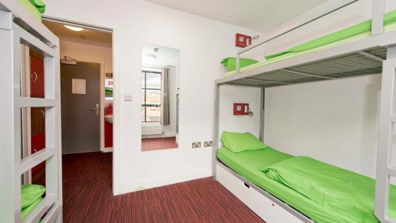 YHA_Manchester_Bedroom1